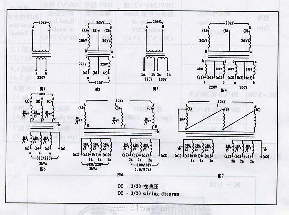 变压器的联接组别的表示方法是:大写字母表示一次侧(或原边)的接线方式,小写字母表示二次侧(或副边)的接线方式。Y(或y)为星形接线,D(或d)为三角形接线。数字采用时钟表示法,用来表示一、二次侧线电压的相位关系,一次侧线电压相量作为分针,固定指在时钟12点的位置,二次侧的线电压相量作为时针。